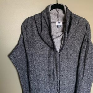 Old Navy cowl neck grey Sweater size S